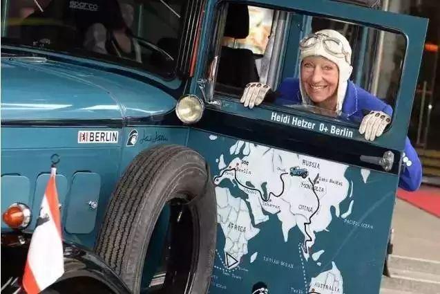 80岁奶奶开车游遍58个国家:这样的人生真的很酷!