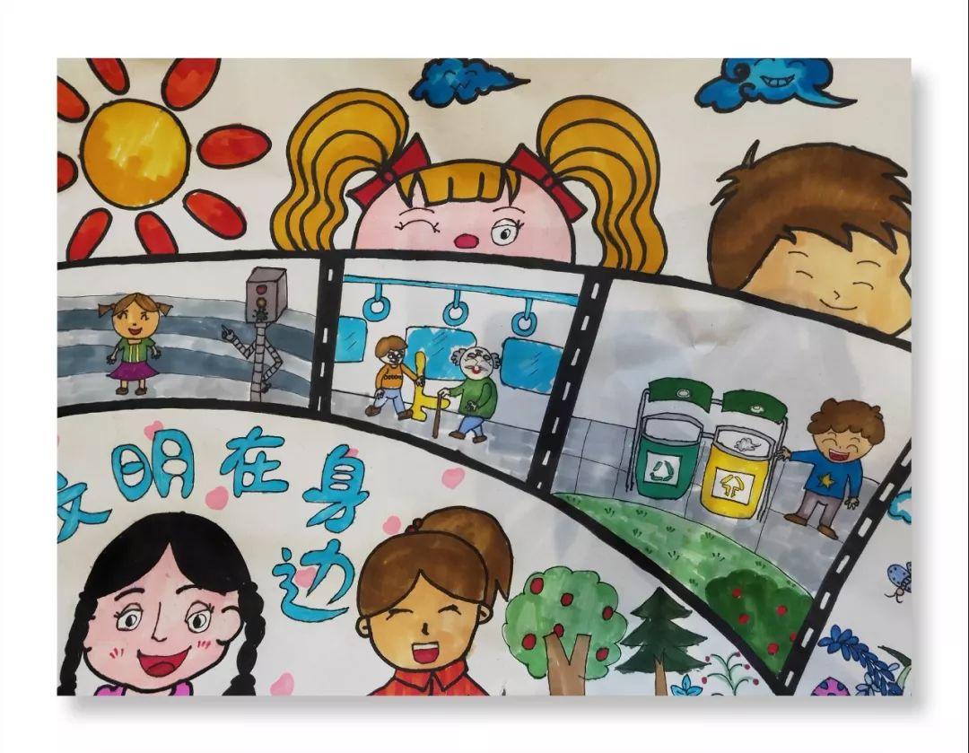 """官宣!阆中""""创文创卫""""学生绘画活动获奖名单公示!_名字图片"""