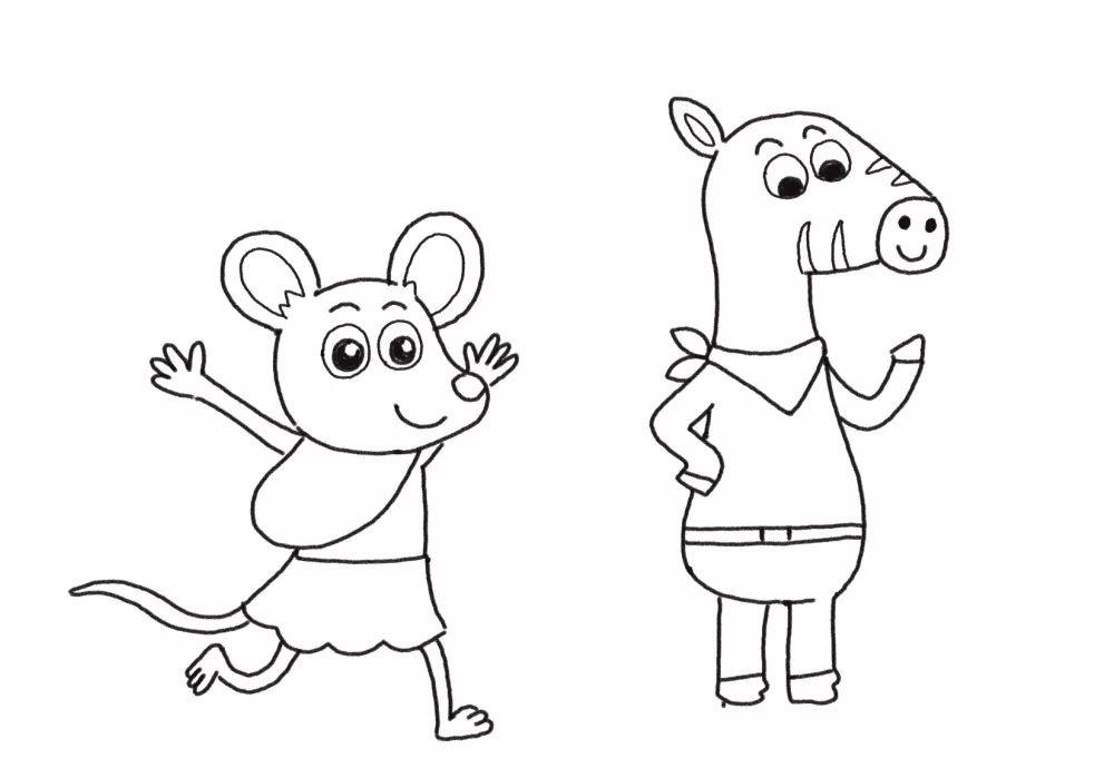 简单有趣的超可爱小动物简笔画来啦