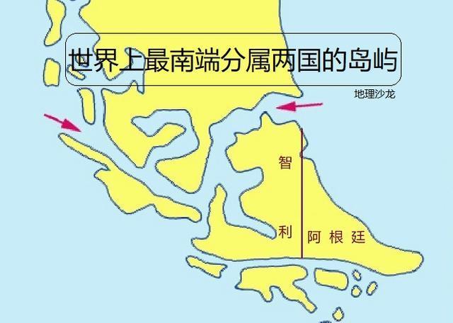 """世界上最南端分属两国的岛屿""""火地岛"""",迎来大量来自世界各地的游客"""