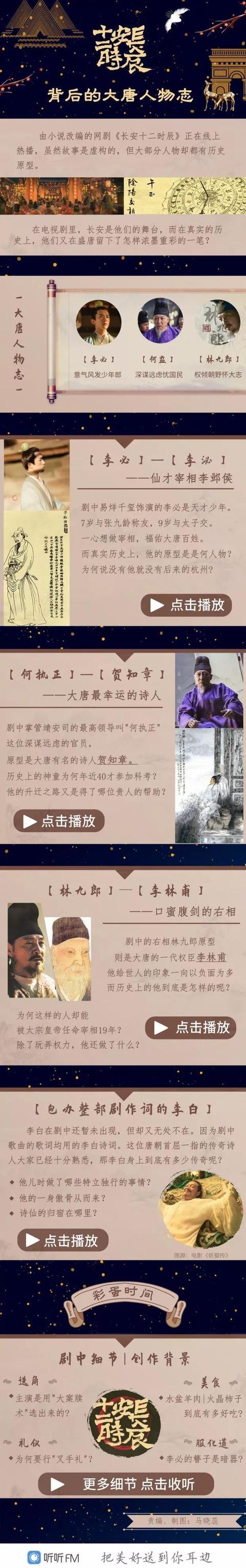 热听 |《长安十二时辰》背后的大唐人物志
