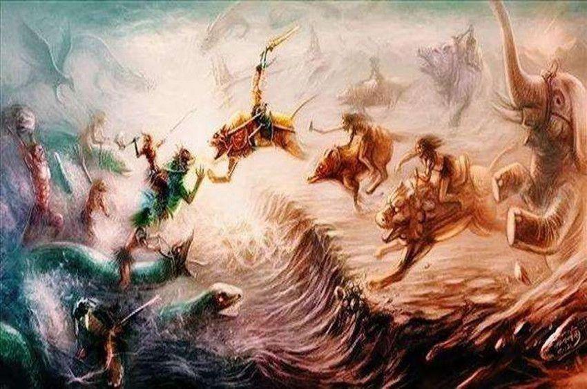 黄帝与炎帝 蚩尤大战,为什么动物及神仙鬼怪要参与进来