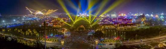 """与世界""""干杯"""" 第29届青岛国际啤酒节在金沙滩啤酒城盛大开幕"""