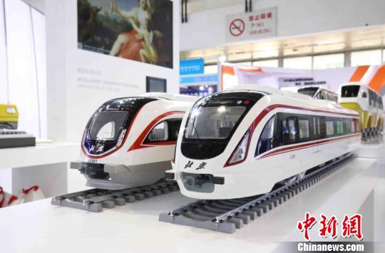 北京国际轨道交通展举办 智慧地铁列车集中亮相