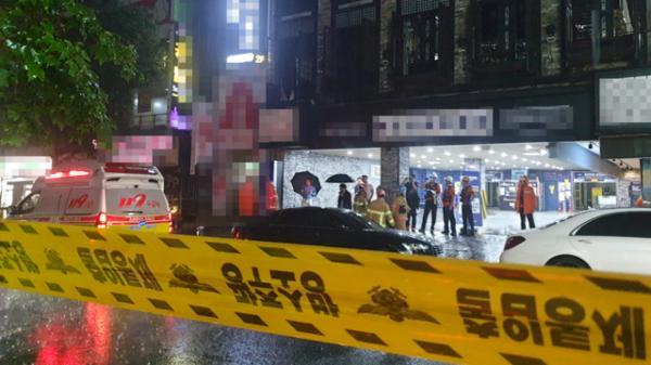 光州一酒吧倒塌致2死 游泳世锦赛组委会:8名选手受伤