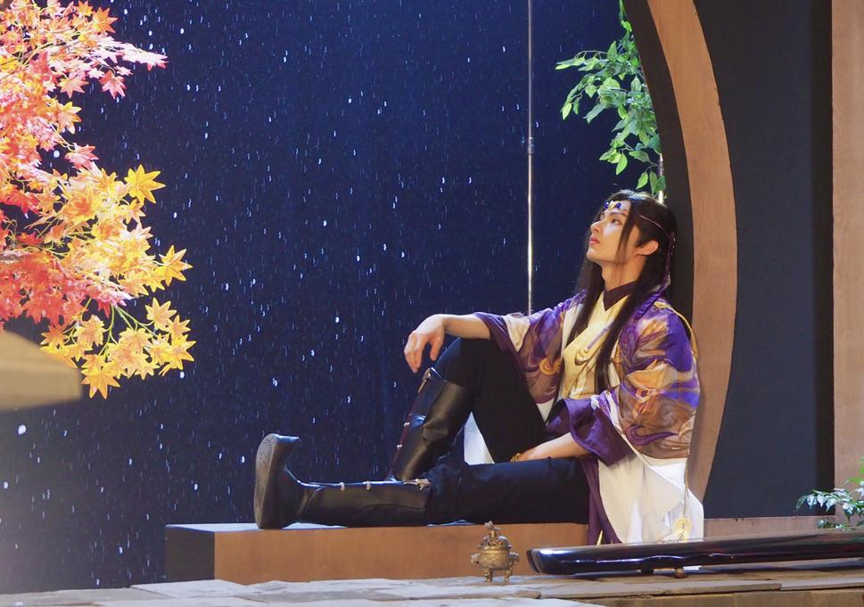 文俊辉古装国风舞蹈视频,网友感叹:像是梦境里出现的人