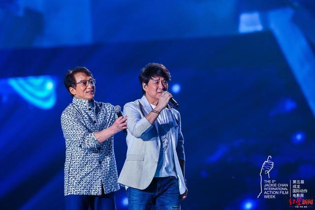 成龙国际动作电影周闭幕 王千源获钢铁人最佳动作男演员