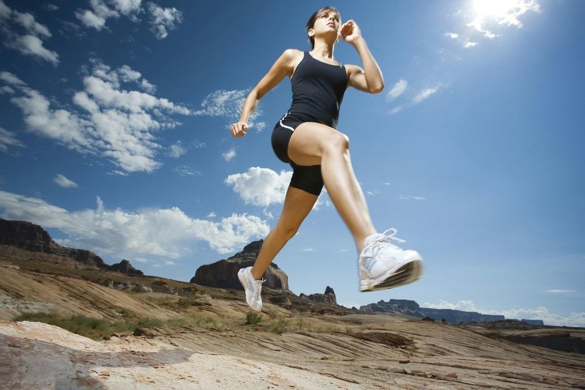 跑步有节奏感,可以跑得轻松,还可以少受伤