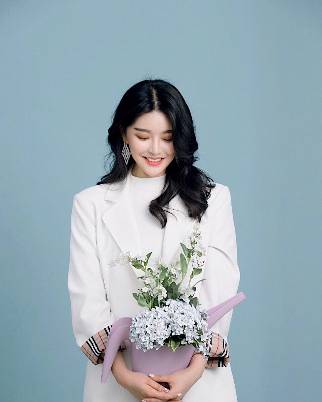 韩国美女模特,甜美清秀,女神合辑一25张