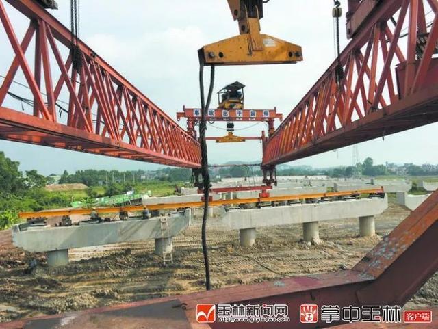 最新进展!清湾江大桥开始吊装箱梁,二环西路预计今年底全线贯通