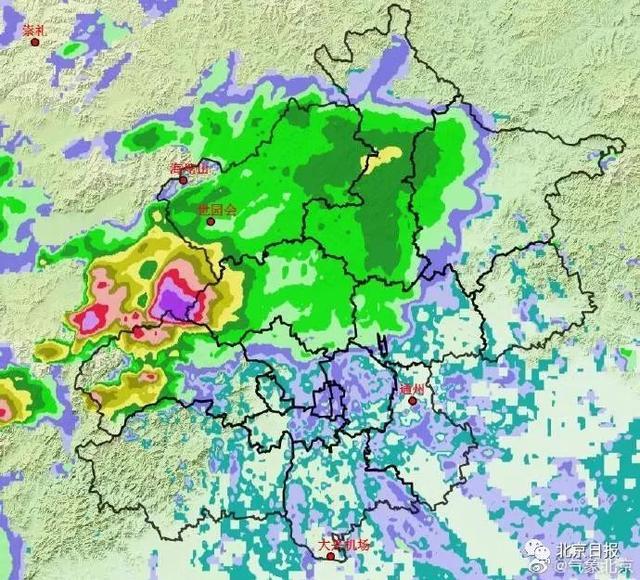 北京多区暴雨预警!明天早高峰您要注意了……