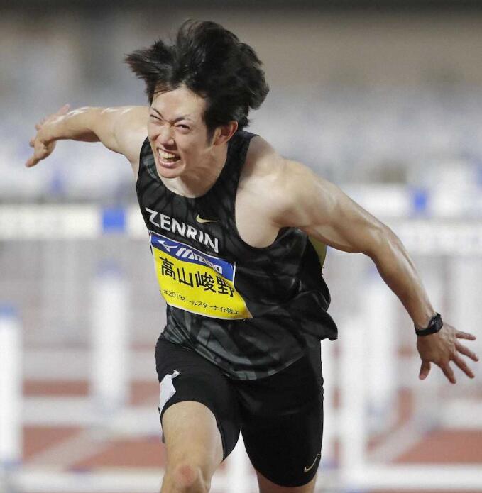 高山峻野13秒30破日本高栏纪录 谢文骏又遇新挑战
