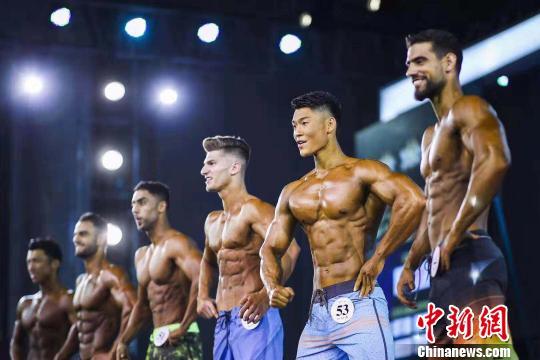 21国近400选手齐聚黑龙江角逐健身健美