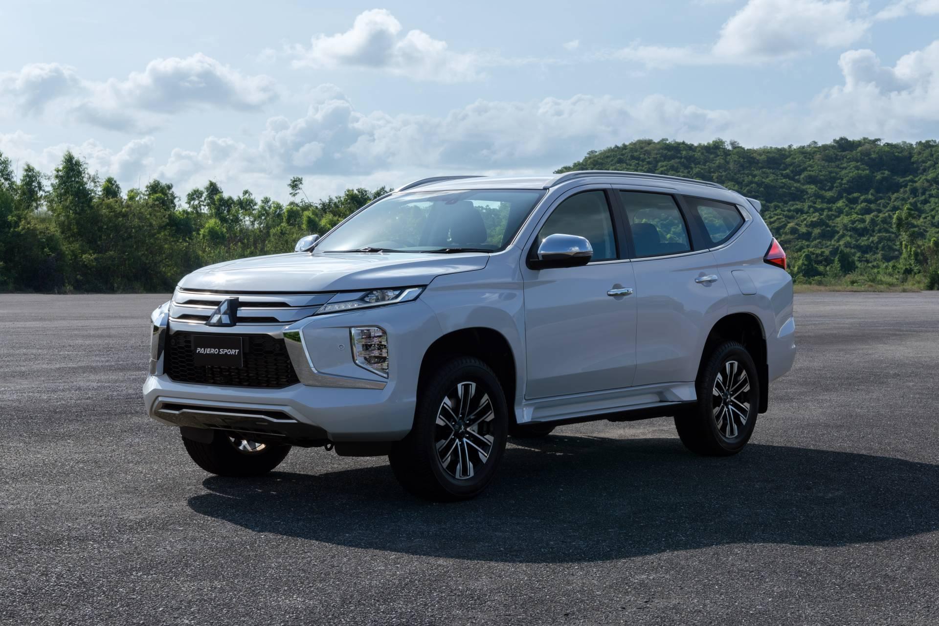 2020款改款三菱帕杰罗Sport框架SUV亮相