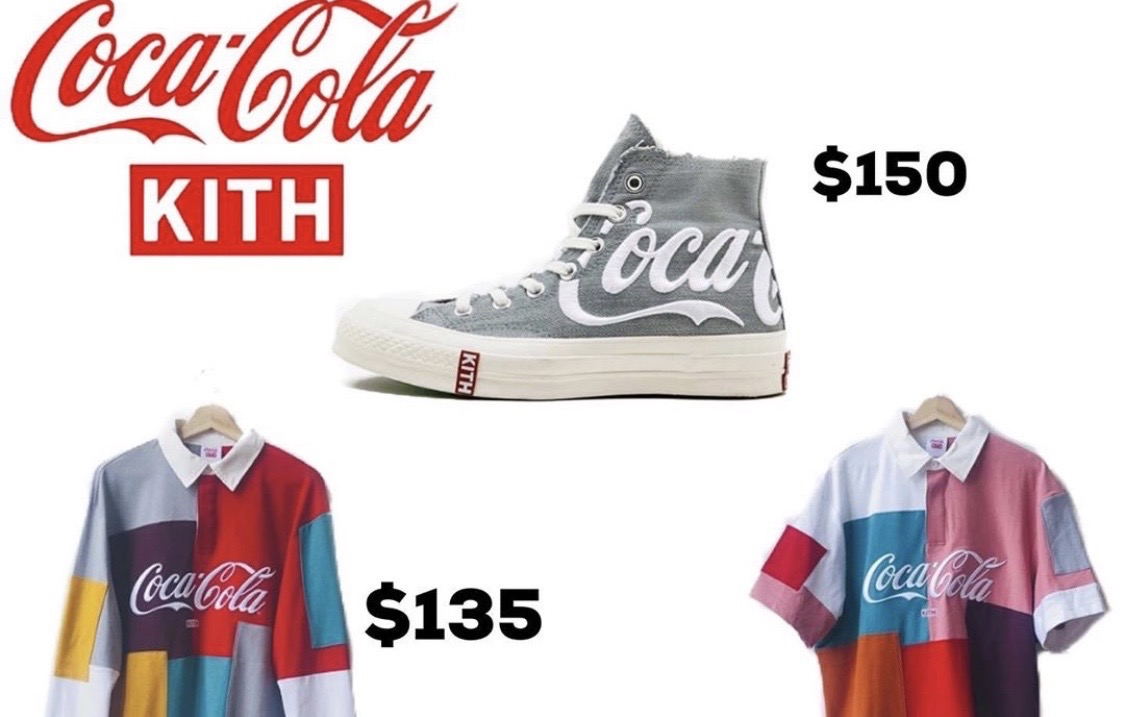 Coca-Cola x KITH联乘系列发售曝光!抢不抢得到看运气!