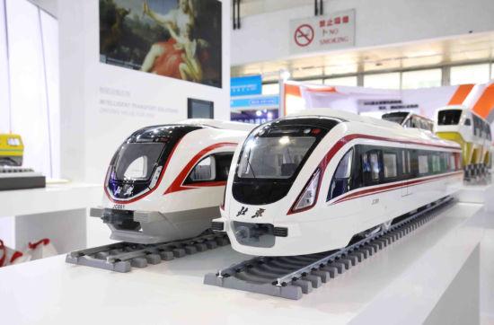国际轨道交通展在京举办 智慧地铁列车集中亮相