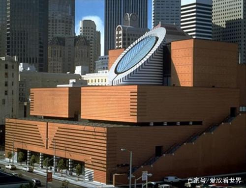 """旧金山现代艺术博物馆:""""口""""形的两层楼,雍容华贵,庄重大方!"""