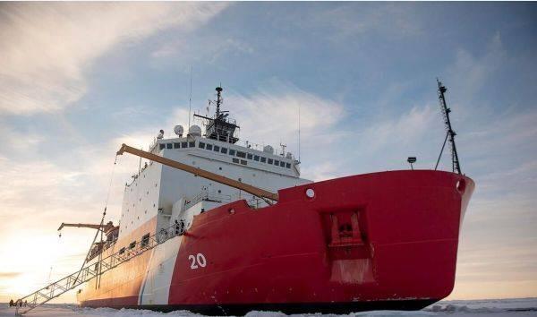 """英媒:美国在北极部署""""希利""""号破冰船"""