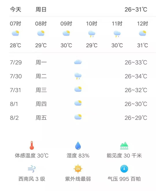 2019年7月28日烟台综合广播《新闻早报》
