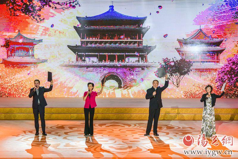 第29届全国书博会迎宾诵读活动在永宁门举行