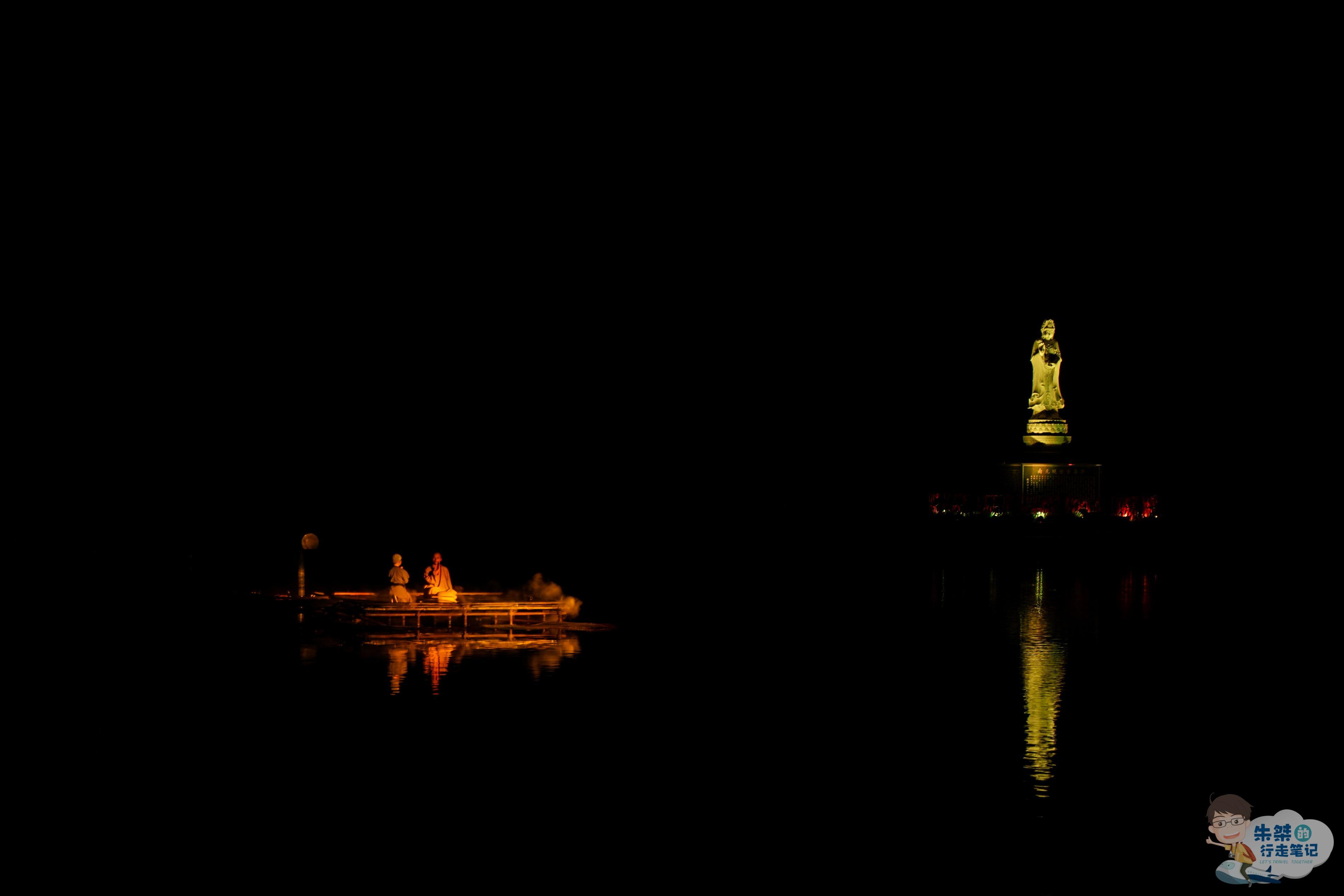 国内首个牡丹文化的水上实景演出,表演周期两