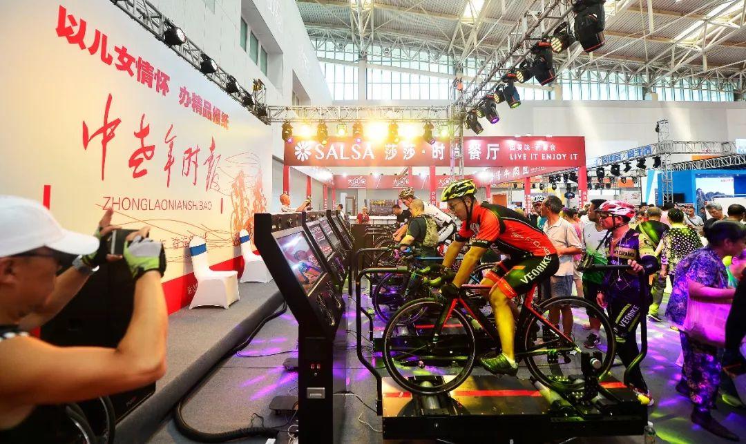 近千名中老年人骑行体验 趣味骑行健身又科学