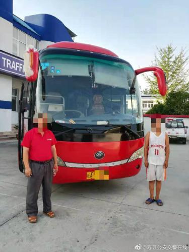 """安徽寿县通报""""14岁少年开大客车"""":吊销驾驶员驾照"""