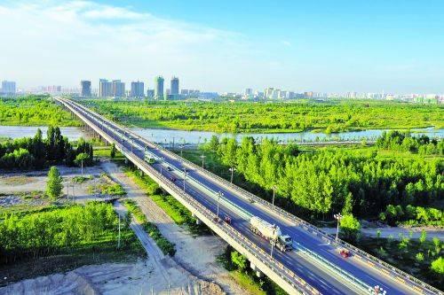 【壮丽70年 奋斗新时代】伊犁河上的桥