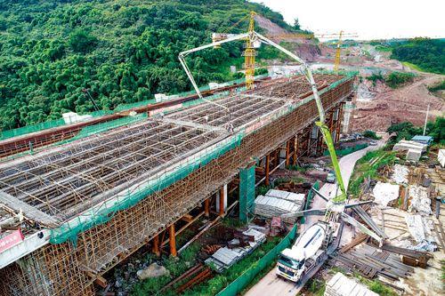 泸州二环路(纳溪段)已完成8座桥梁主体结构施工