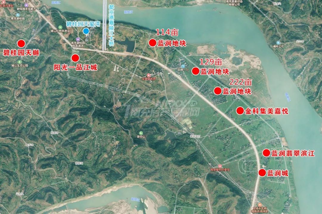 南充市文峰片区规划图