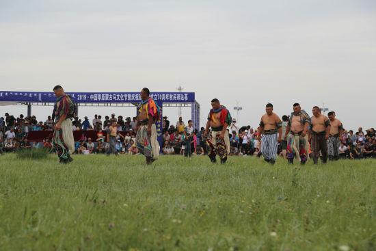 2019中国草原蒙古马文化节在内蒙古太仆寺旗开幕