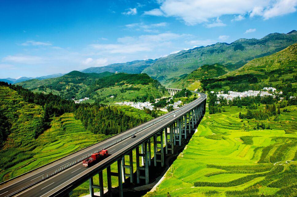 """上半年贵州公路水路固投523亿元,继续保持在全国""""第一方阵"""""""