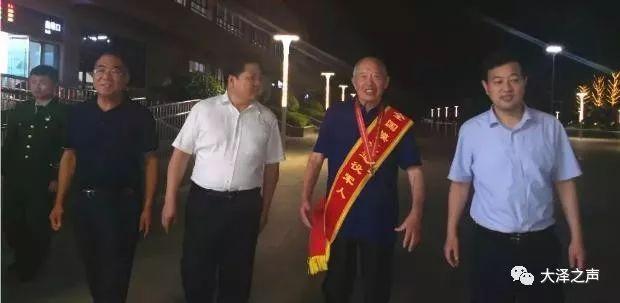 萧县这名退役军人受到党和国家领导人接见!
