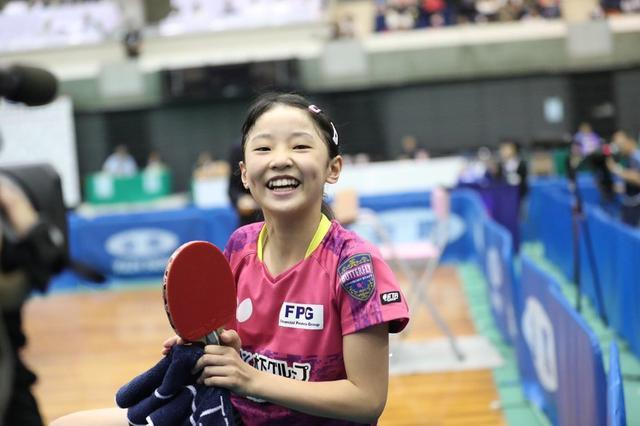 <b>八战全胜仅丢一局!11岁华裔女神童再夺一冠,入籍日本已成国乒劲敌</b>