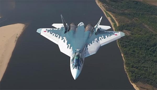 俄羅斯已開始量產第五代戰鬥機蘇-57,首批約70架_蘇霍伊