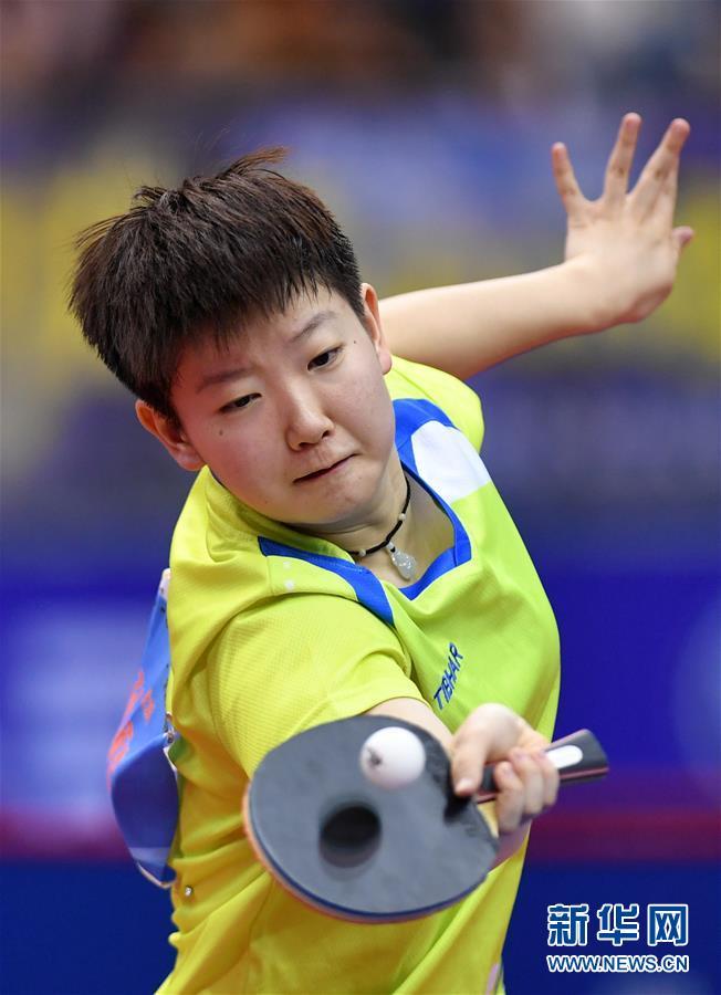 <b>全国锦标赛:孙颖莎女子单打夺冠</b>