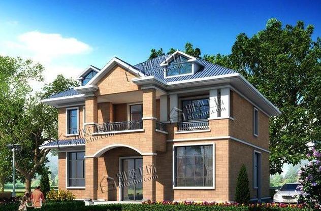 农村二层楼别墅设计,户型实在父母都喜欢