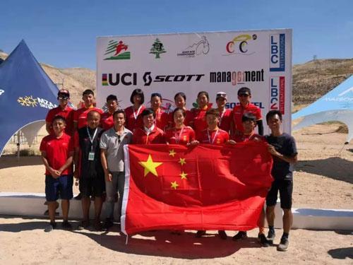中国山地车自行车队男、女双获东京奥运会资格