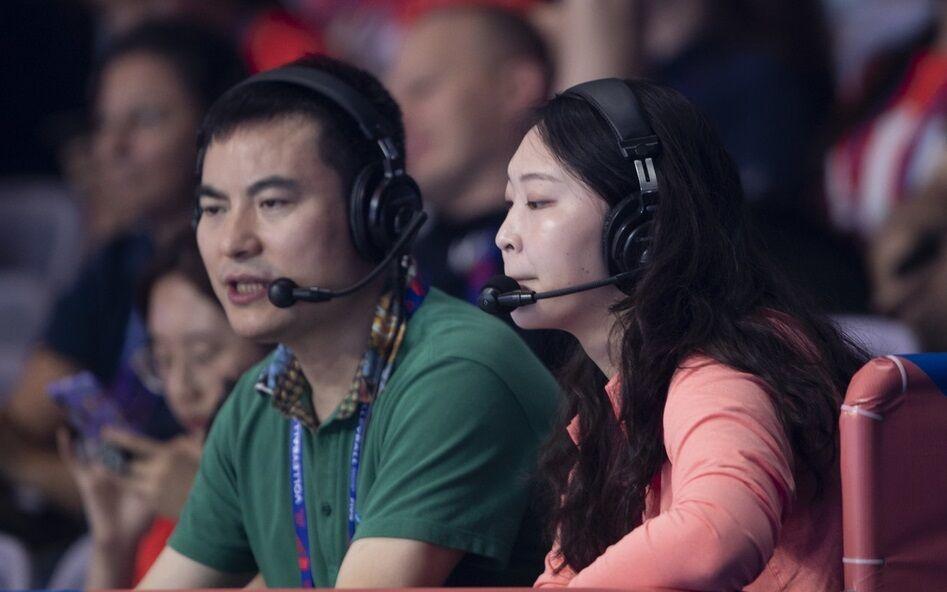 惠若琪另类复出助阵女排 北仑奥预赛站对阵变脸