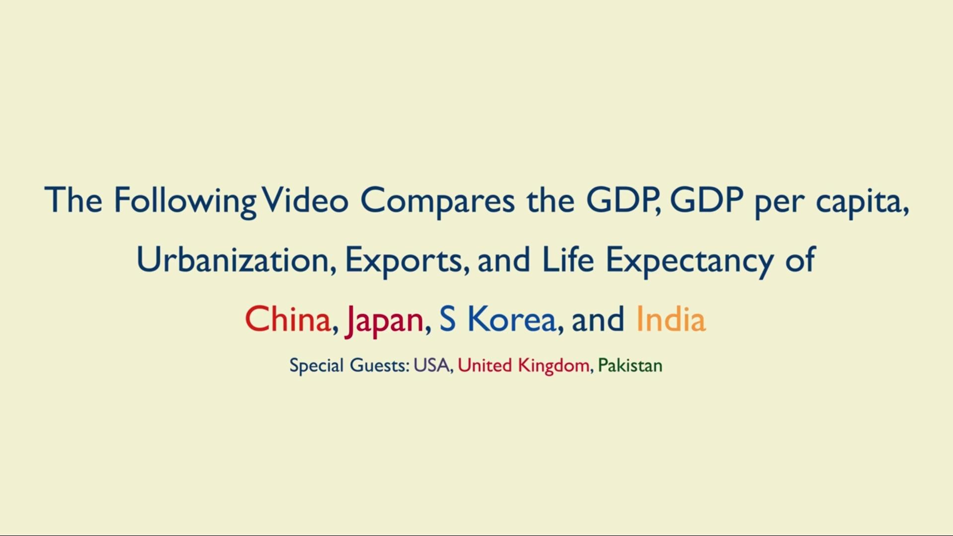 外媒对比中日韩印各项经济数据,日本网友感叹:我们输了!