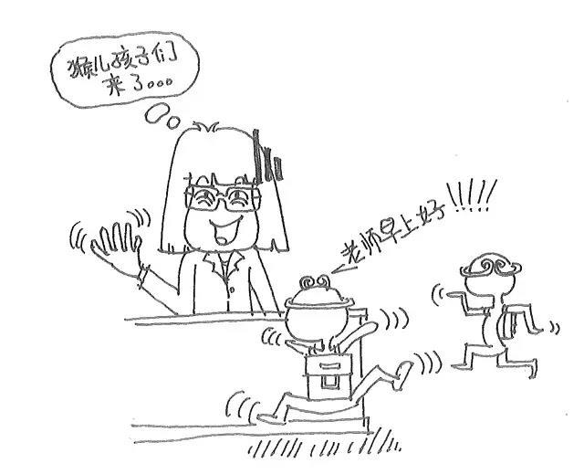 一则漫画 老师的一天 ,太形象了,转给你身边的老师