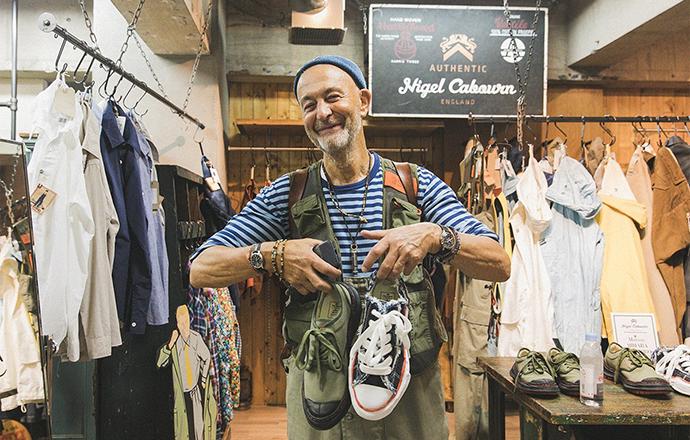 喜欢Nigel Cabourn的粉丝,现在可以约定品牌新品了!