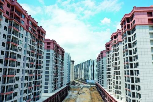七星和平地块安置房已建成,融创桂林的其他项目正推进(图)