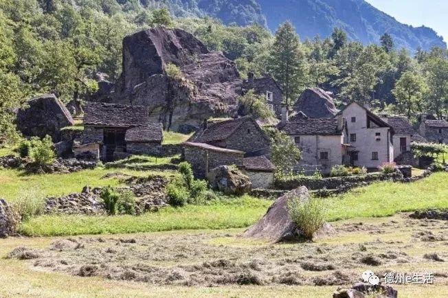 房子1美元!瑞士小镇石头屋 环境美如画 (图)