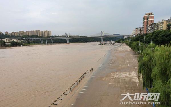 预计最高水位8.73米 长江洪峰将过境泸州