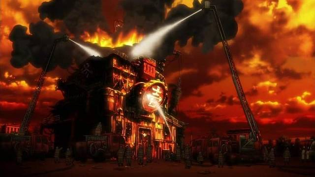 <b>《炎炎消防队》第3集更改画面向京阿尼致哀 片尾略恐怖</b>