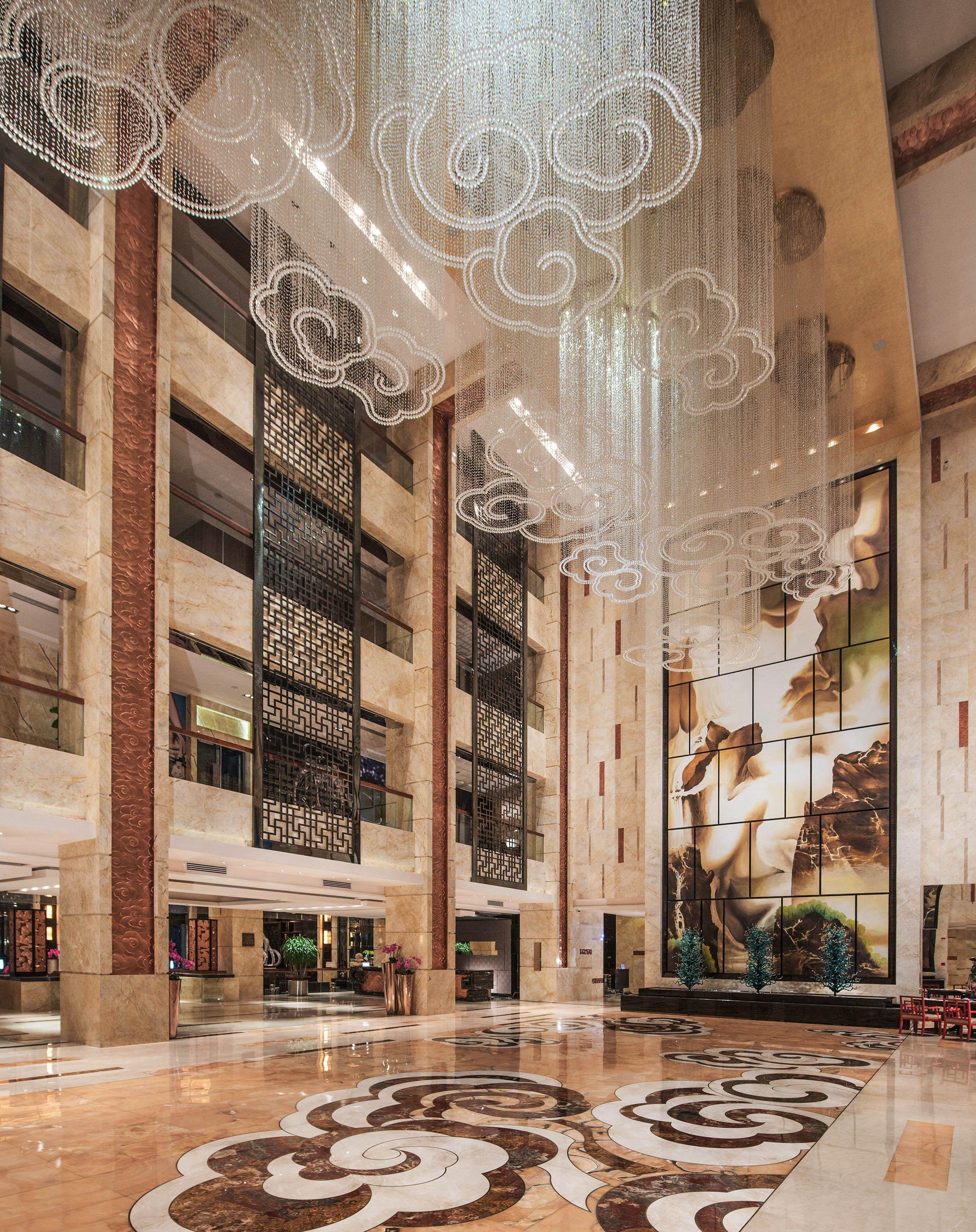 酒店家具选择时一定要以整个酒店文化环境需要为依据