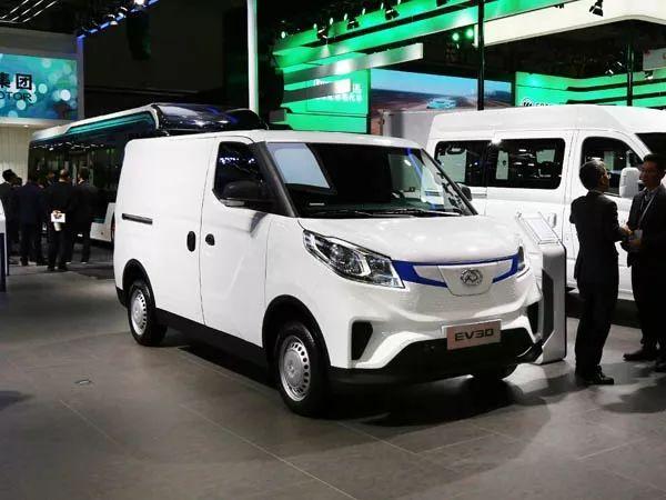 城市物流新生力量实拍SAIC大通EV30 |卡车网之友