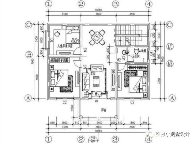 7字形别墅设计图
