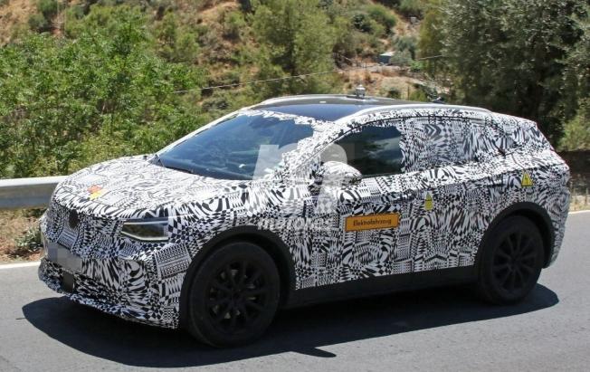 大众全新纯电SUV曝光 定位高于途观